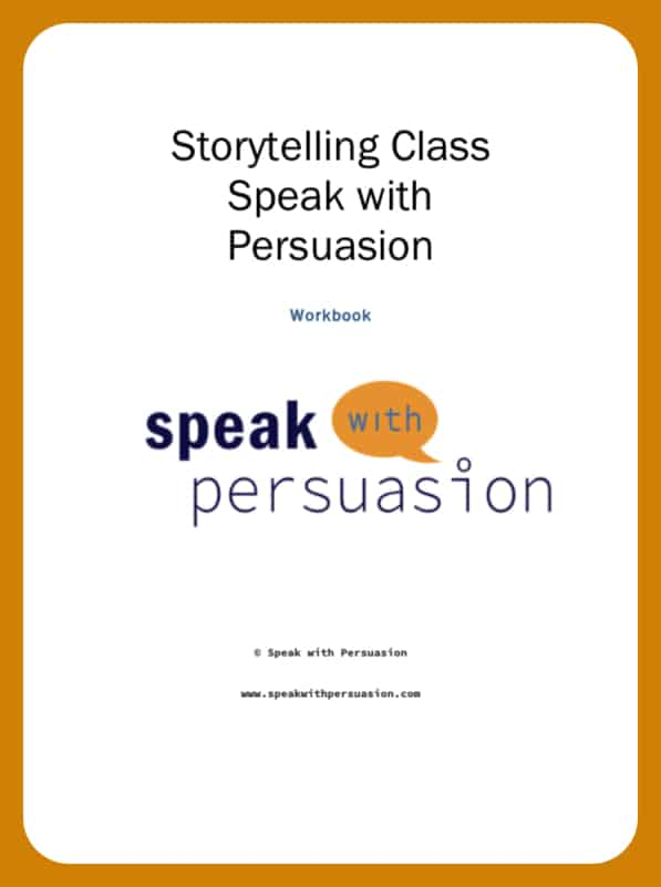 Those who tell the stories rule the world. Learn how to create and tell the right stories that make you loved and listened to in this storytelling class. This is the text book that comes with the class